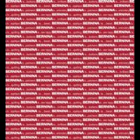 Red/White Bernina stoff