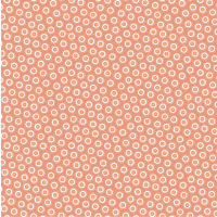 Orange Dotty Buttons