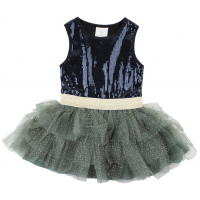 EN FANT - HORIZON DRESS DUCK GREEN