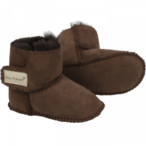 EN FANT - SHEEPSKIN BOOTIES BROWN