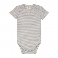 GRAY LABEL - BODY SS STRIPE GREY/CREME