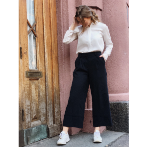 Gabby Cropped WIde Pant