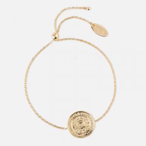 Coin slider bracelet