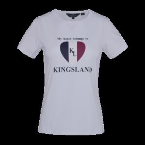 Kingsland Ibiza T-skjorte Dame - Hvit