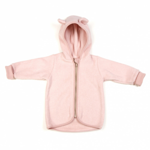 HUTTELIHUT - JAKKE FLEECE DUSTY ROSE