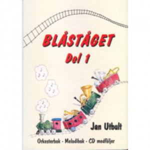 BLÅSTÅGET 1 TROMPET - BOK M/CD