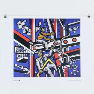 Fernand Léger, Bygningsarbeidere