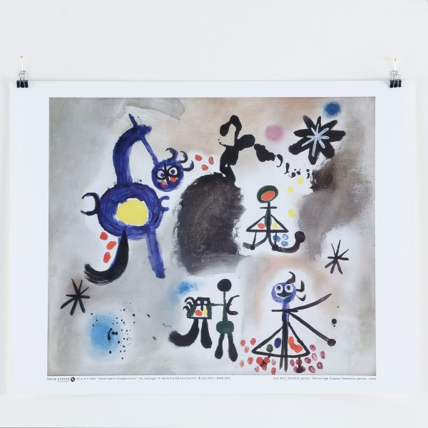 Joan Miró,Personnage orageux