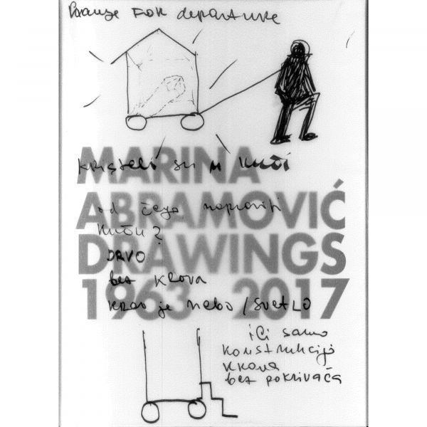 Marina Abramovic Drawings 1963 - 2017