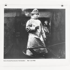 Plakat vintage K Kivijarvi : Trålergaster Svalbardbanken