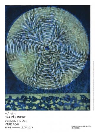 Plakat månen
