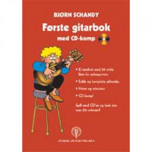 FØRSTE GITARBOKA MED CD-KOMP