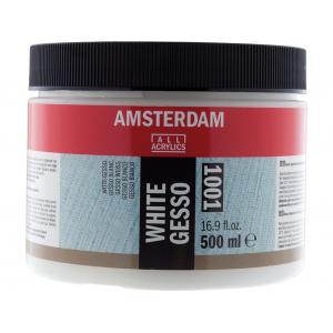 Amsterdam Gesso White 1001 – 500ml