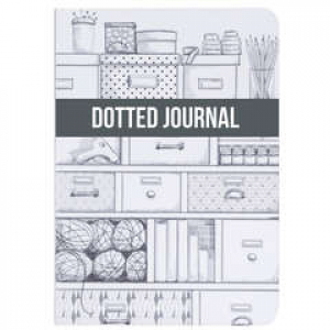 Dotted Journal Hvit Storage