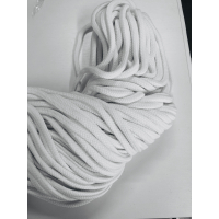 3 meter Hvitt bånd 6 mm