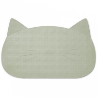 LIEWOOD - BADEMATTE CAT DUSTY MINT