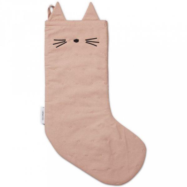 LIEWOOD - JULESTRØMPE CAT ROSE