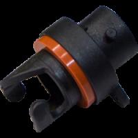 Reactor valve pump connector