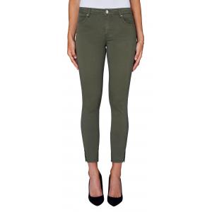 Nicole Crop Split Jeans