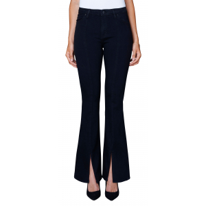 Uma Jeans Black Split
