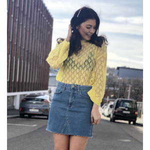 Ecco Knit -yellow
