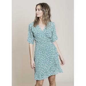 Irina dress - green seed