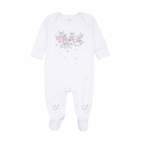 LIVLY - SWEET DREAMS ANGELS FOOTIE WHITE/PINK