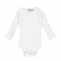 MARMAR - BODY MODAL LS PLAIN GENTLE WHITE