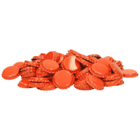 Flaskekapsler 26mm, Oransje