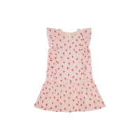 SOFT GALLERY - AVENA DRESS ROSEBUD PALE DOGWOOD