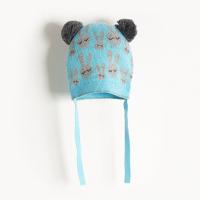 THE BONNIE MOB - LUE BUNNY JAQUARD PALE BLUE