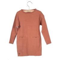 LITTLE HEDONIST - DRESS LENA MARSALA