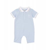 LIVLY - BUNNY LOGO PIKE ROMPER