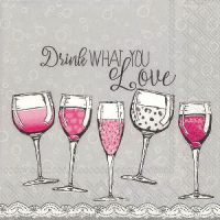 """Drink what you love"" kaffe"