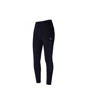 Kingsland Karina Tights Knegrip- Navy og rosa