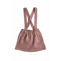 BY HERITAGE - BEA SKIRT DARK OLD PINK