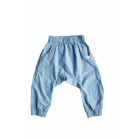 BY HERITAGE - CARL TROUSERS CHAMBRAY BLUE