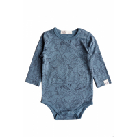 BY HERITAGE - CLEO BODY PRINT SEA BLUE