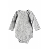 BY HERITAGE - CLEO BODY PRINT WARM GREY