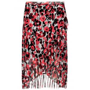 Ladies skirt med volanger