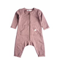 BY HERITAGE - OTTO PLAYSUIT DARK OLD PINK