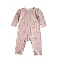 BY HERITAGE - PETTER PLAYSUIT PRINT OLD PINK