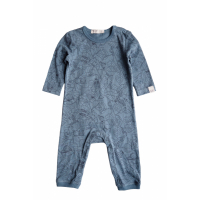 BY HERITAGE - PETTER PLAYSUIT PRINT SEA BLUE