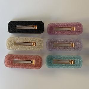 Hårspenne Glitter Plast
