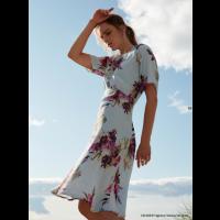 Fragrance short slv dress