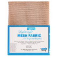 LIGHTWEIGHT MESH FABRIC  Natural- 18 IN X 54 IN