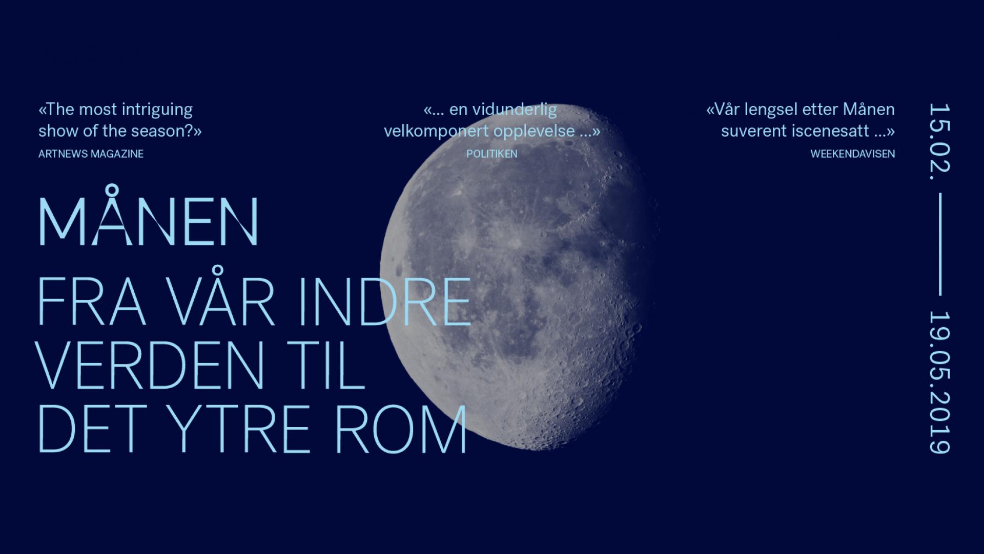 Månen - fra vår indre verden til det ytre rom