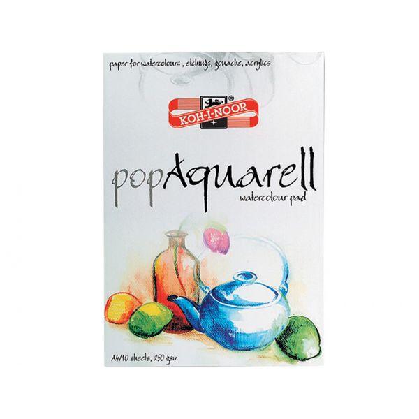 KOH-I-NOOR POP AQUARELL A4 - AKVARELLBLO