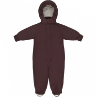 KONGES SLØJD - NOHR SNOWSUIT BORDEAUX