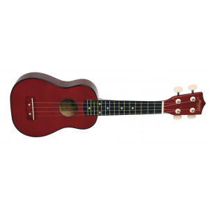 UKULELE MORGAN UK-100 RØD METALLIC